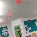 Hanging Yarn Pumpkins